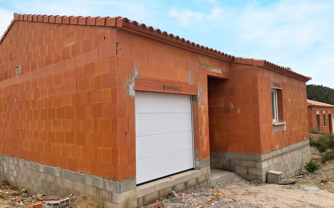 Nos maisons en cours de construction – BIO'BRIC